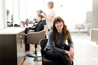 Hire a chair in a hair salon